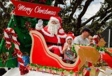 2017年11月26日奥克兰圣诞游行 Santa Parade 观看指南