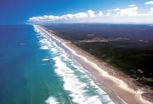 新西兰九十英里海滩90 Mile Beach