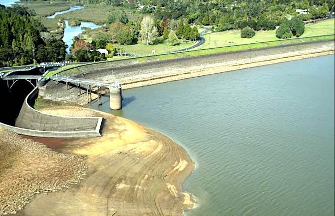 Auckland-s-dam-levels