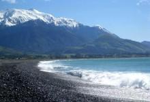 新西兰旅游景点凯库拉小镇Kaikoura