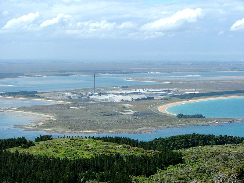 Tiwai-Point-Aluminium-Smelter