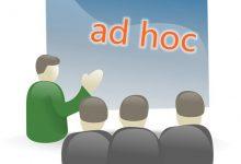 新西兰英文媒体文章中常见的词组 ad hoc