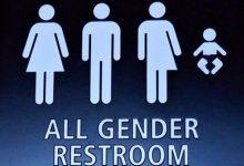 新西兰的无性别卫生间unisex bathroom
