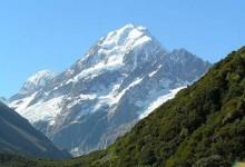 新西兰库克山国家公园