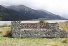 新西兰亚瑟隘口国家公园Arthurs Pass National Park