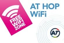奥克兰公交卡ATHop站台免费WIFI