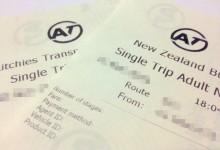 奥克兰公共汽车票价中有GST吗?
