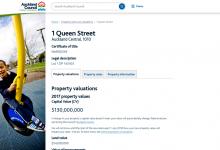 奥克兰房屋估值和地税查询网站