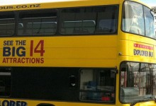 奥克兰观光巴士Auckland Explorer Bus