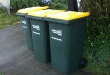 新西兰居民区可回收物垃圾桶Recycle Bin