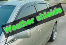 新西兰汽车车窗挡雨条Weather Shields