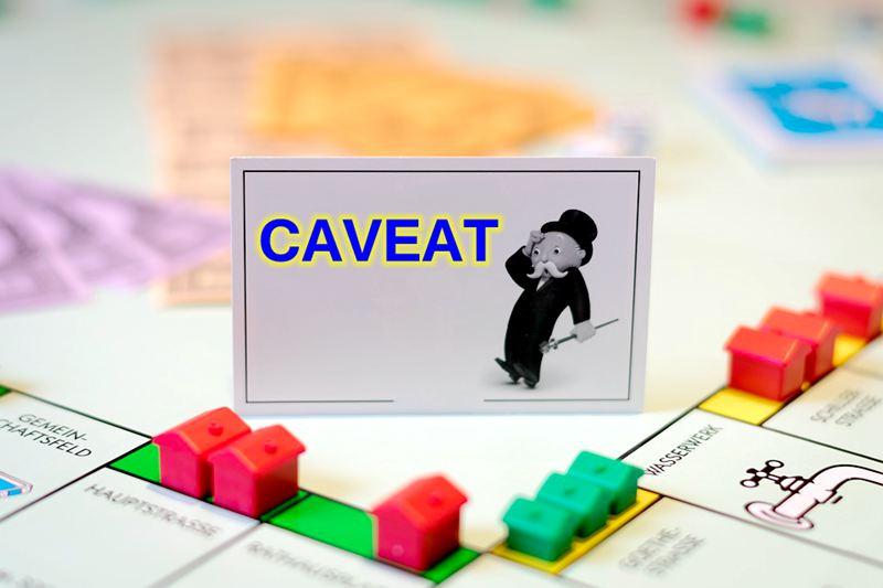 caveat-on-land-title