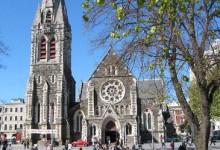 新西兰南岛花园城市基督城
