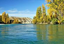 新西兰南岛旅游胜地克鲁萨Clutha