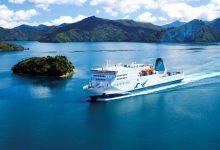 新西兰北岛南岛间的库克海峡 Cook Strait