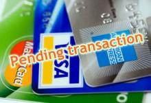 新西兰信用卡的Pending Transaction