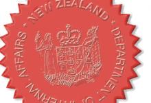 新西兰内政部文件公证服务
