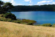 新西兰的沙丘湖 Dune Lakes