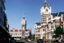 新西兰南岛城市但尼丁Dunedin