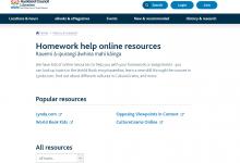 新西兰公共图书馆网站的免费在线教学视频课程