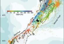 新西兰地震信息网Geonet