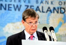 新西兰央行下调官方现金利率25点,新西兰元急跌