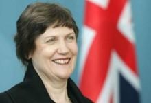 新西兰前总理海伦克拉克Helen Clark