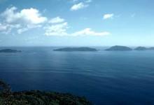 新西兰母鸡小鸡岛Hen and Chicken Islands