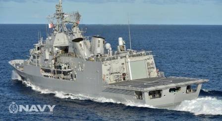 新西兰海军舰艇图片欣赏
