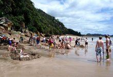 Hot Water Beach热水海滩