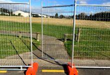 新西兰施工工地的飓风围栏 Hurricane fence