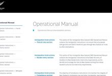 新西兰移民局操作手册在线地址 INZ Operational Manual