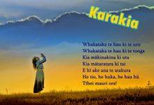 """新西兰毛利祈祷文""""卡拉基亚"""" Karakia"""