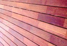 """新西兰室外建筑木料""""印茄木"""" Kwila"""