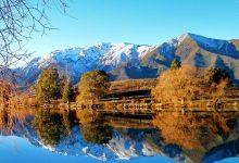 新西兰南岛班莫尔湖 Lake Benmore