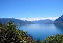 新西兰南岛旅游景点哈维亚湖 Lake Hāwea