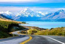 新西兰普卡基湖 Lake Pukaki