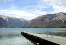 新西兰南岛罗托伊蒂湖 Lake Rotoiti