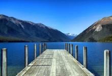 新西兰内尔森湖国家公园Nelson Lakes