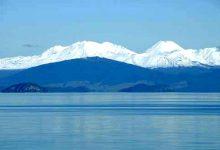 新西兰陶波湖 Lake Taupo