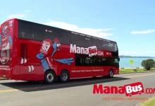 新西兰北岛长途客运汽车 Mana Bus