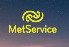 新西兰气象预报服务MetService