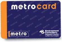 基督城公交卡Metrocard