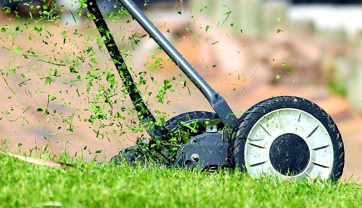mulch-mowing