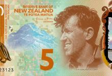 新西兰即将发行新版5元10元钞票
