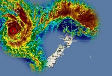 新西兰的气旋Cyclone