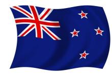 新西兰国旗national flag