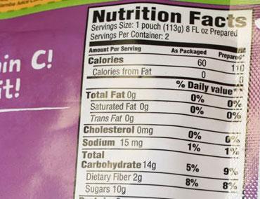 nutrition-panel