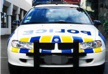 新西兰高速巡逻警车前面安装的防撞杠是做什么的?
