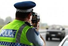 新西兰警方对于超速驾驶的容忍度
